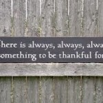 Choose to be Thankful